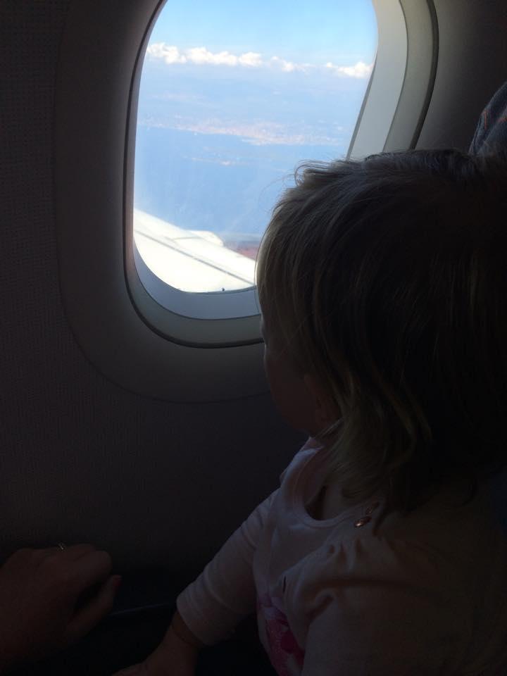 Landing in Nice