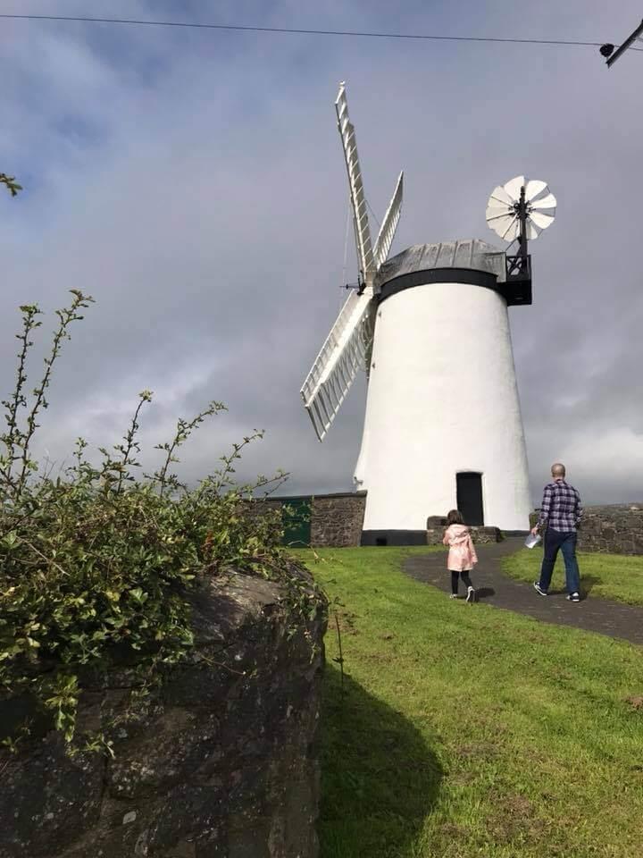 Short walk to windmill