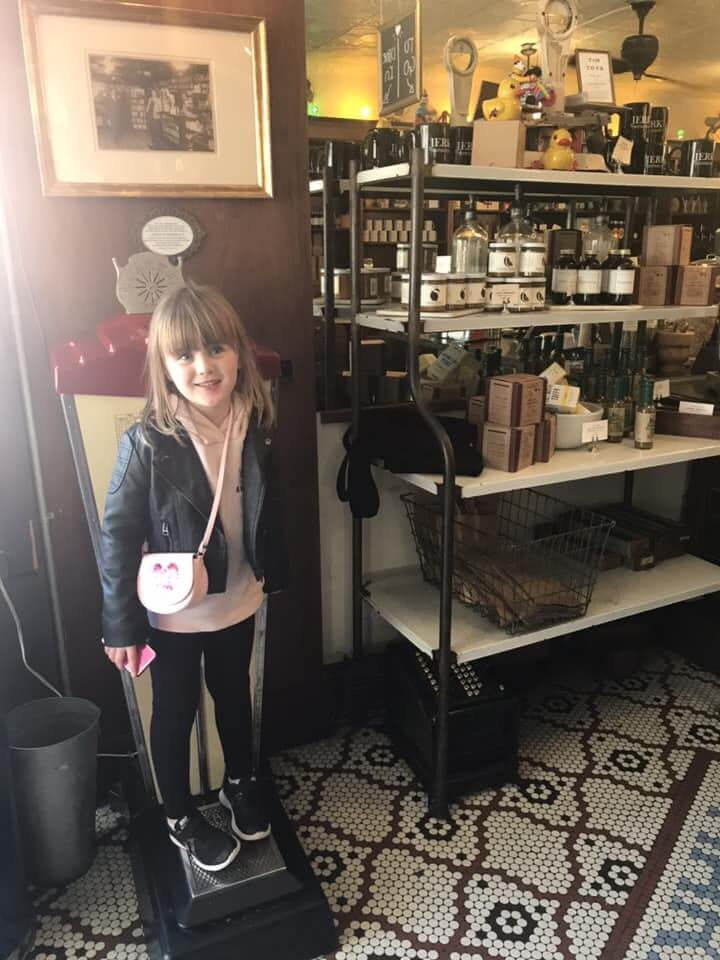 Brooklyn Farmacy & Soda Fountain old shelves