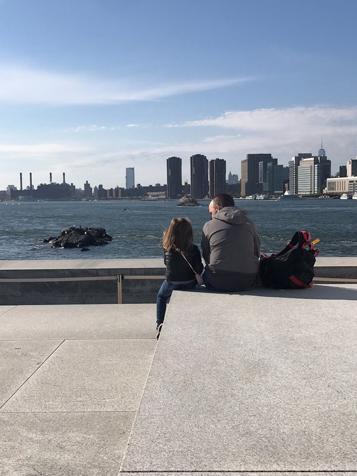 Smallest island in NYC view