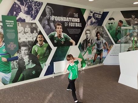 History of Northern Ireland football