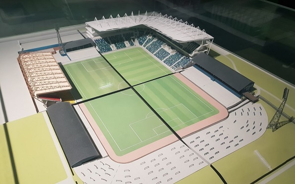 History of Northern Ireland Stadium