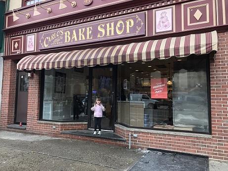 Carlo's bakery outside