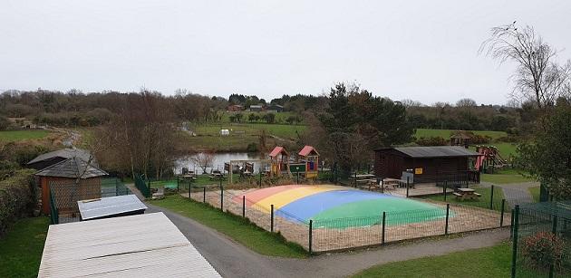 The Ark Open Farm view.